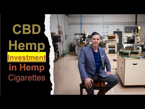 Cbd hemp investment in hemp cigarettes stocks in hempacco with jorge olson