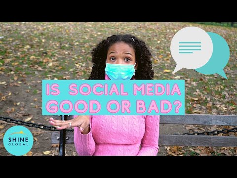 Kids give advice: is social media good or bad?