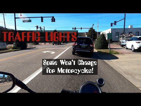 Traffic lights ignore motorcycles!