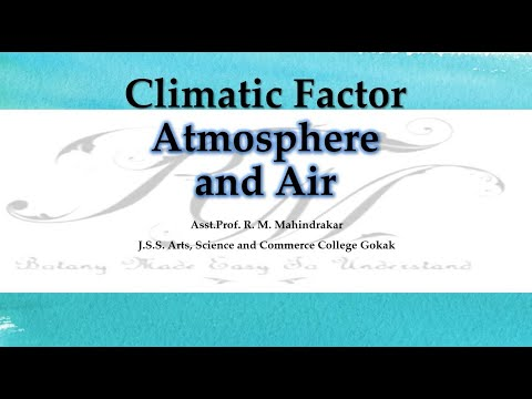 Atmosphere and air
