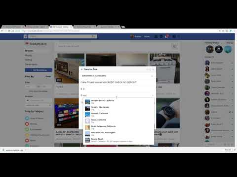 How to place an ad on facebook marketplace
