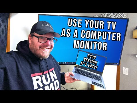 How to use your tv as a computer monitor - updated 2020