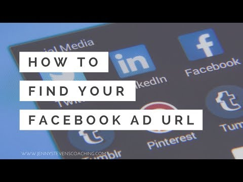 How to find your facebook ad url and see the full ad