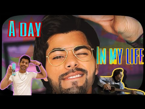 A day in my life 😍  covering grey hair in seconds   siddharth nigam