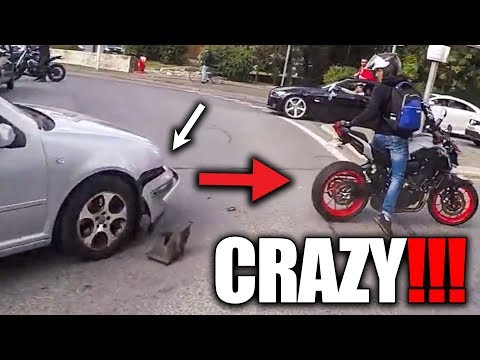 Crazy, stupid & angry people vs bikers   bad, exciting   [ep. #405]