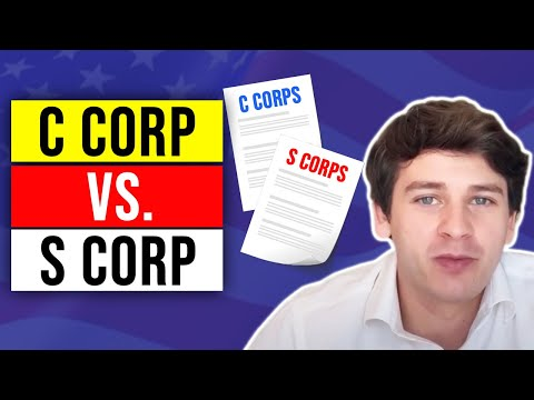 What is the difference between a c corporation and an s corporation