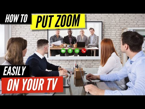 How to cast zoom meetings to tv