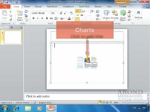 Using powerpoint 2010 - using layouts with a content placeholder