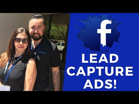 How to run a facebook ad to a landing page