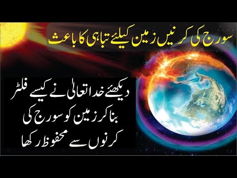 How does the ozone layer protects our lives explained in urdu