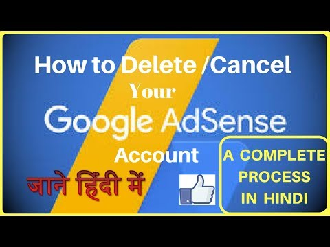 How to delete or cancel your google adsense account