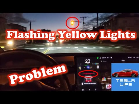 Problem with flashing yellow lights using traffic light and stop sign control