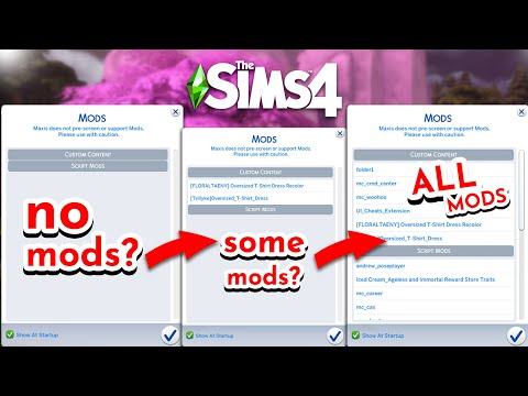 Some sims 4 mods not showing up in game? how to fix sims 4 mods not working in 2021?