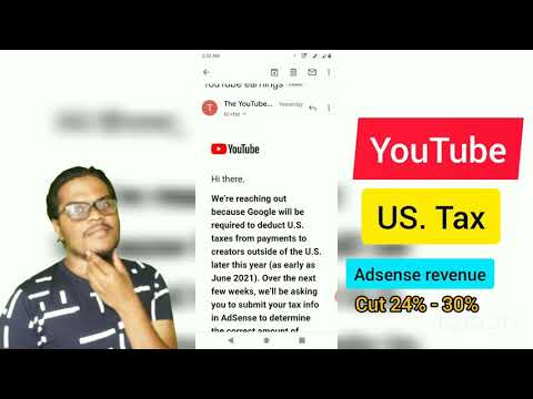 Youtube tax form | 2021|how to fill|indian creators|in tamil@treatboys
