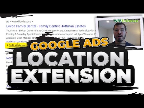 Google ads location extension - show your ad in map listings and expand your ad with business info