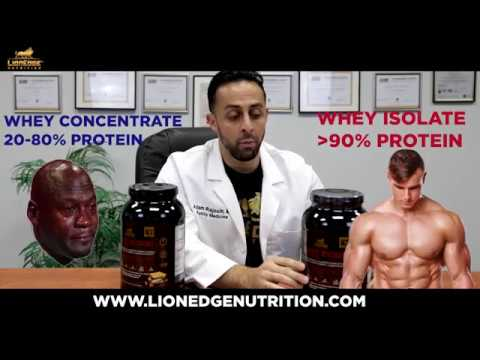 Medical doctor explains whey protein supplements
