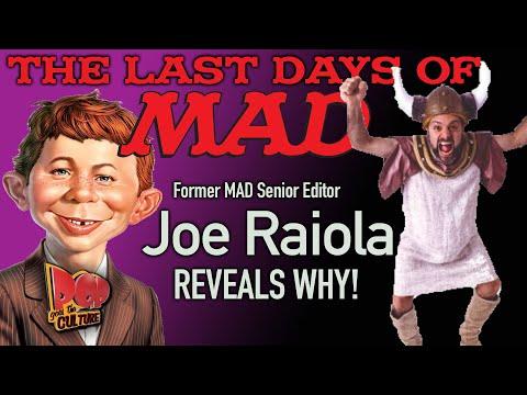 The end of mad magazine: joe raiola, former senior editor, speaks out