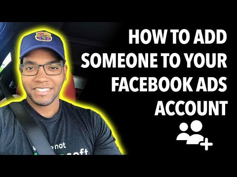 How to add someone to your facebook ads account
