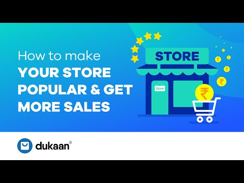 How to increase sales & make your store popular on social media