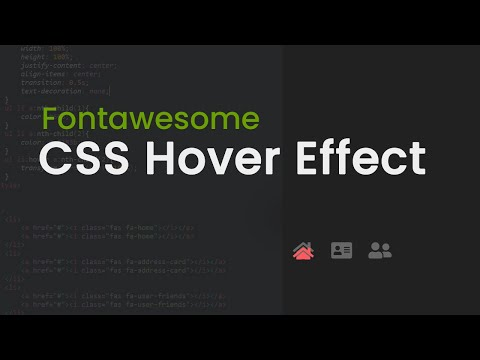 Fontawesome css hover effect | cspoint website designing tutorials