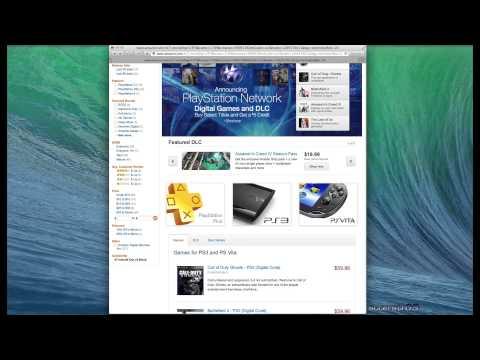 Buy digital playstation content on amazon