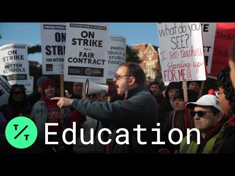 'when we fight, we win:' chicago teachers strike in u.s.'s third-largest school district