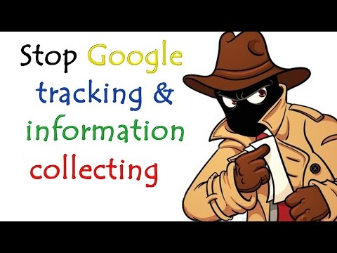 Stop google ads tracking, location tracking and data collecting.