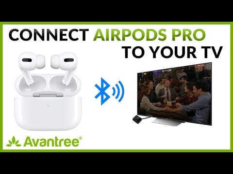 How to watch tv with airpods pro? connect airpods pro to tv with volume control