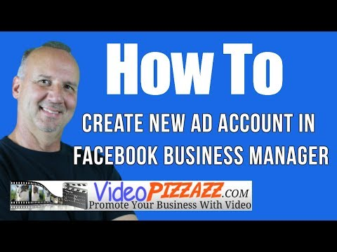 Create new ad account in facebook business manager - how to create a facebook ads account