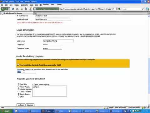 How to register for california online traffic school