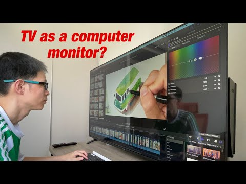 Can you use a tv as a computer monitor?
