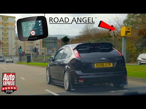 Reviewing the road angel pure speed camera detector in the focus st
