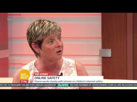 Kids right to remove and edit social media | good morning britain