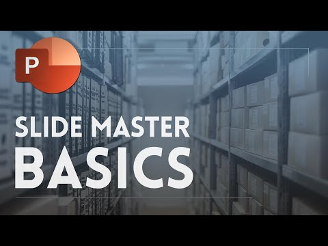 Powerpoint slide master tutorial - placeholders and basics ✔