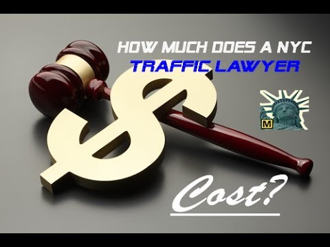 How much does a nyc traffic lawyer cost?   michael spevack law offices   (212) 754-1011