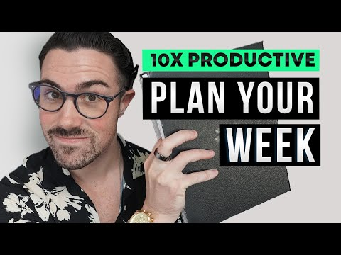 How to plan a productive week in less than 30-minutes