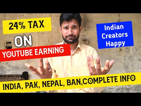 बेवकूफ 40% tax on youtube earning |🔥 indian creators happy | complete info