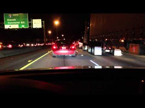 Audi a7 - adaptive cruise control in heavy traffic