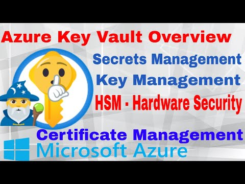 Learn azure key vault explained overview