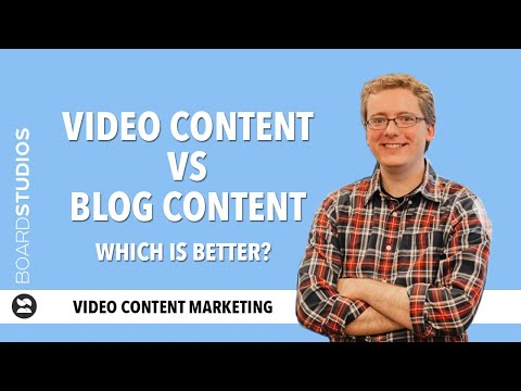Video content vs blog: which one's better, and why?