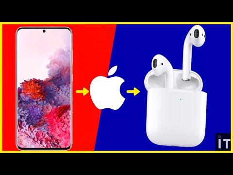 How to connect airpods to any samsung or android phone