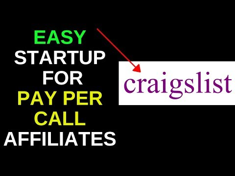Pay per call affiliate marketing using craigslist (step by step)