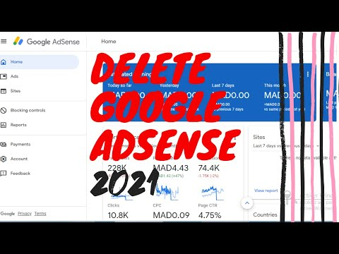 How to delete your google adsense account 2021 cancel your account permanently