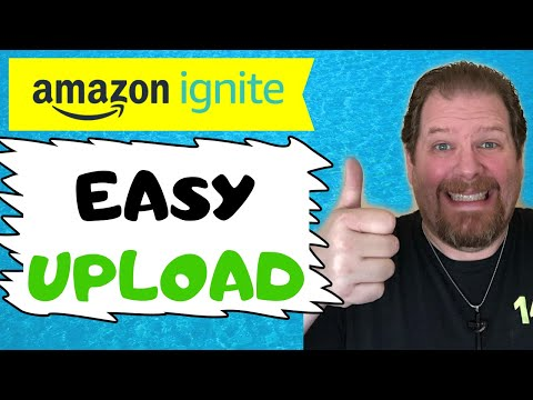 Uploading to amazon ignite | how to submit a file