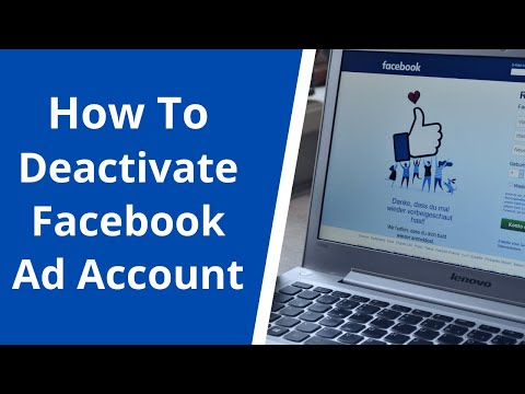 How to deactivate, delete or remove a facebook ad account from facebook business manager [2020]