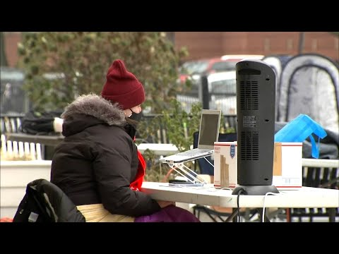 Some cps teachers teach outdoors, citing safety concerns
