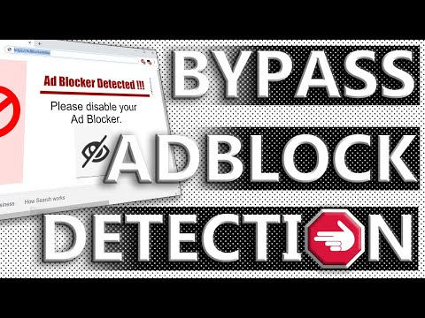 """How to stop """"disable your ad blocker"""" warnings!!!"""