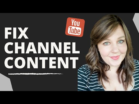 This channel doesn't have any content - fix your channel
