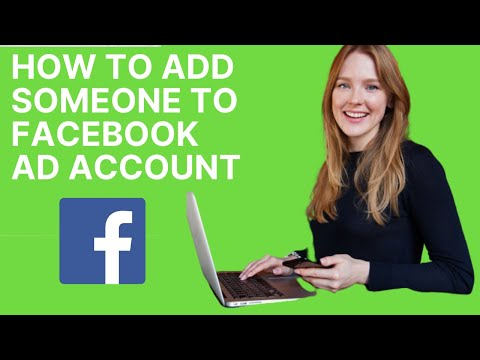 How to add someone to your facebook ad account