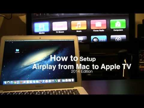 How to: air play from mac to apple tv (2014) revisited